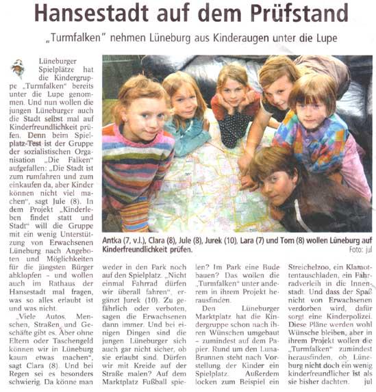 Landeszeitung vom 6. Oktober 2009