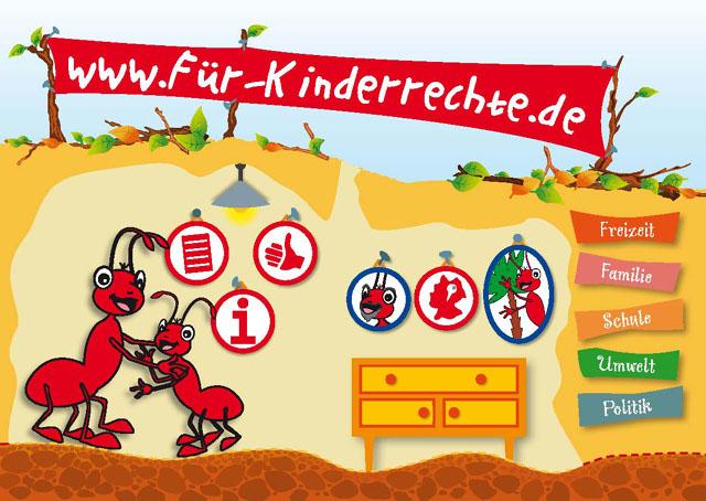 Das neuen Kinderrechte-Portal mit 1000 tollen Infos, Filmchen, Spielen und so weiter... ganz dolle toll!!!